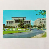 Vintage 1961 Postcard Mac Arthur Square House and Safety Building Milwaukee