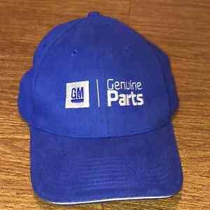 GM General Motors Genuine Parts Blue Baseball Hat