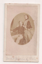 Vintage CDV King Edward VII & Queen Alexandra of Great Britain From Canada