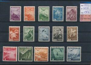 LN83666 Austria 1935 views landscapes fine lot MNH cv 190 EUR