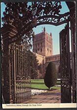 C1970's View of Tewkesbury Abbey through the Gage Gates