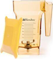 BlendTec FourSide Blender Jar - 2 Qt, Yellow
