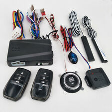 12V Car Alarm Passive Keyless Entry Remote Start/Stop Engine System Central Lock