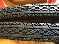 Black   Bicycle Tires ALL BLACK  26 x 2.125 inch size for cruiser Bicycles