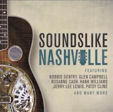 SOUNDS LIKE NASHVILLE - VARIOUS ARTISTS (NEW CD) BOBBIE-GLEN CAMPBELLL