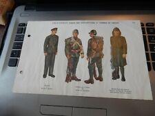 More details for 日本軍の制服タイプ nippongun no seifuku taipu  ww2 japanese army french id plates t
