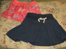 Lot of 2 Girls Skirts Skorts Gymboree Ralph Lauren Polo Very Cute Navy Peach