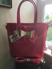 LYDC Bow Tote Shopper Bag in Hot Pink Brand New With Tags