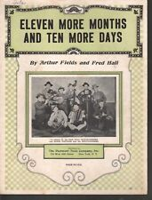 Eleven More Months and Ten More Days 1930 Sheet Music
