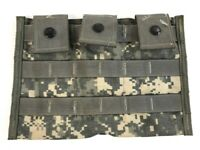 ACU Triple Magazine Pouch, MOLLE US Military Tactical ACU Camo Mag USGI Army
