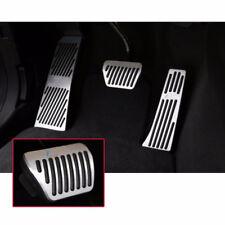 3Pcs Auto Aluminum Pedal Set AT Pedals FORBMW 5 6 7 series X3 X4 Z4