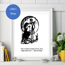 The Nightmare Before Christmas - Various Quotes -   A4 Photo Frame