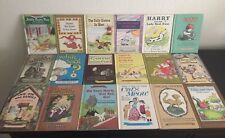 Lot of 18 Vintage Hardcover Children's An I Can Read Books: Weekly Reader Books
