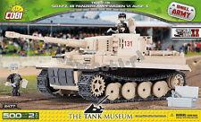 COBI Tiger 131 / 2477 / 500 elem. blocks WWII German heavy tank  Small Army