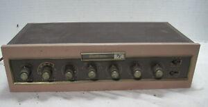 Uncommon Electro Voice Model PC1 Tube Preamplifier Preamp==Nice original!