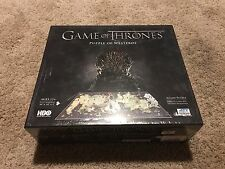 GAME OF THRONES, PUZZLE OF WESTEROS, 1400+ PCS & 65+ BUILDINGS, NEW