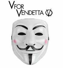 2 x MASCARA V DE VENDETTA CARETA ANONYMOUS 15 M INDIGNADOS