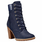 Timberland Women's Glancy 6 Inch Navy Nubuck Boots Style A14H1