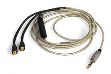 Upgrade Silver Audio Cable For Logitech UE900 With remote microphone