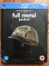 Full Metal Jacket 1987 Kubrick Vietnam War Classic RARE UK Blu-ray