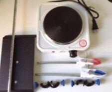 Lab Stand Set Of Distillation Kit Amp 110v Hot Plate