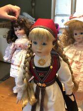 Hardanger Handmade Norwegian Doll