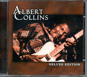 CD Albert Collins ‎– Deluxe Edition 13 track compilation blues
