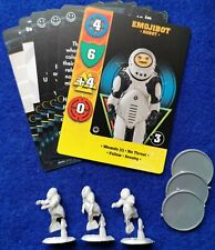 "Dr Who Exterminate game set of ""Emojibots"""
