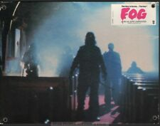 JOHN CARPENTER - ZOMBIES -  THE FOG 1980 * RARE SWISS LOBBY CARD