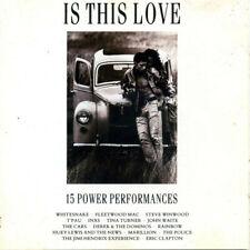 Is This Love - CD Compilation Album | 1989 EMI Eric Clapton Police Fleetwood Mac