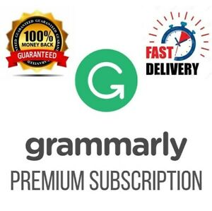 GRAMMARLY©PREMIUM | PREMIUM ACCOUNT | INSTANT DELIVERY | LESS THAN 30S✔️