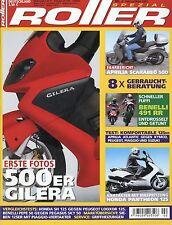 Roller Spezial 2 2003 Pegasus Sky 50 BMW C1 Peugeot Elyséo Aprilia Scarabeo 500