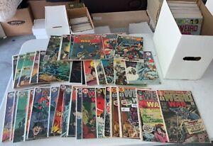 DC Weird War Tales Comic Book Issue Lot Run 1-124 (104) Total Mid