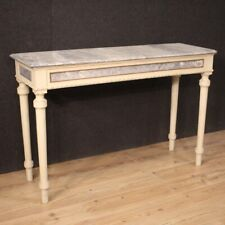 Console Furniture Table IN Wood Lacquered Golden Painting Antique Style For Room