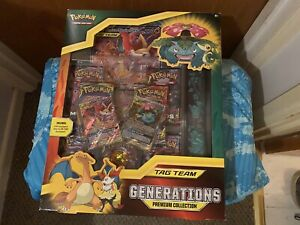 Pokemon TAG TEAM Generations Premium Collection Box | New & Sealed | TCG Cards