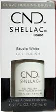 CND Shellac Gel Polish Studio White - .25 fl oz - C40526