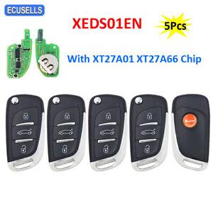 5Pcs Xhorse XEDS01EN VVDI Super Remote XT27 Chip for VVDI2 / VVDI MINI Key Tool