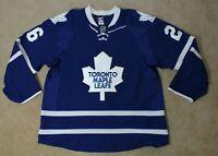 Toronto Maple Leafs Game Worn Hockey Jersey Dan Winnik Pro Stock Size 56
