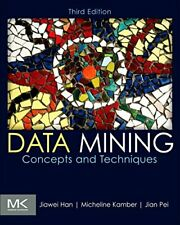 Data Mining: Concepts and Techniques, Han 9780123814791 Fast Free Shipping..