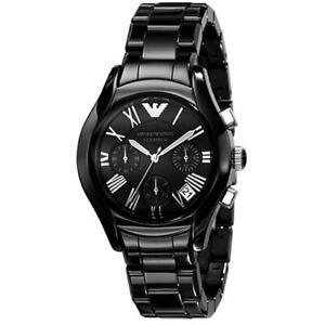 Emporio Armani AR1401 Ceramica Women Classic Chronograph Watch