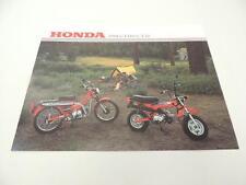 NOS 1981 CT110 CT70 Honda Dealer Brochure L14