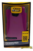 New Authentic Otterbox Commuter Series Case For HTC One M8 Purple 77-40431