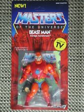 Masters of the Universe Beast Man action figure MOC Super 7 Vintage series