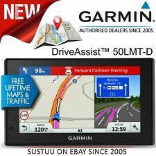 Garmin DriveAssist 50LMT-D GPS Sat Nav+Dash Cam│Lifetime UK-Ireland Map+Traffic