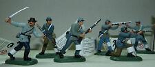 Britains Südstaaten zu Fuß, neu, ACW, Confederate soldiers, 17828, Civil War