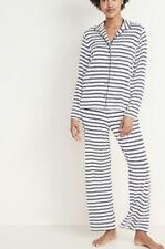 Old Navy Womens Striped Pajamas XL NWT