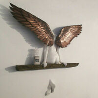 3D Angel Art Sculpture Wall Decoration Statue for Living Room Bedroom Decoration