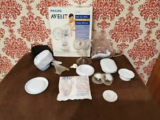 Philips AVENT ISIS iQ UNO Electronic Breast Pump. VGC + Spair parts