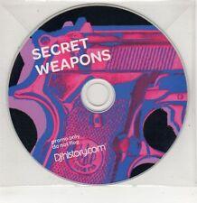 (GU104) Secret Weapons, DJ History - DJ CD