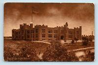 San Diego, CA - c1918 VIEW OF HIGH SCHOOL - POSTCARD